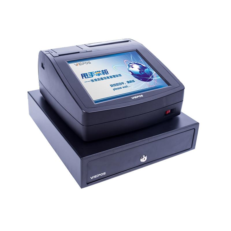 触摸屏餐饮收款机智能收银机pos收款机收银一体机